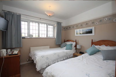Twin Bed and Breakfast Room