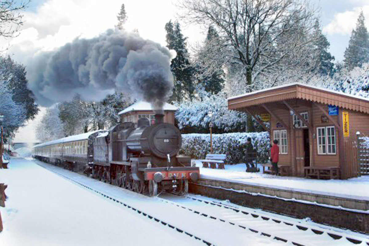 West Somerset Railway- Santa Express